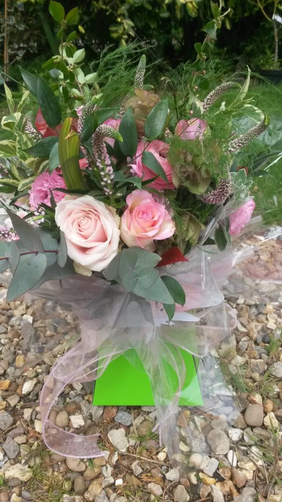 A lovely bouquet for a lovely lady on an anniversary