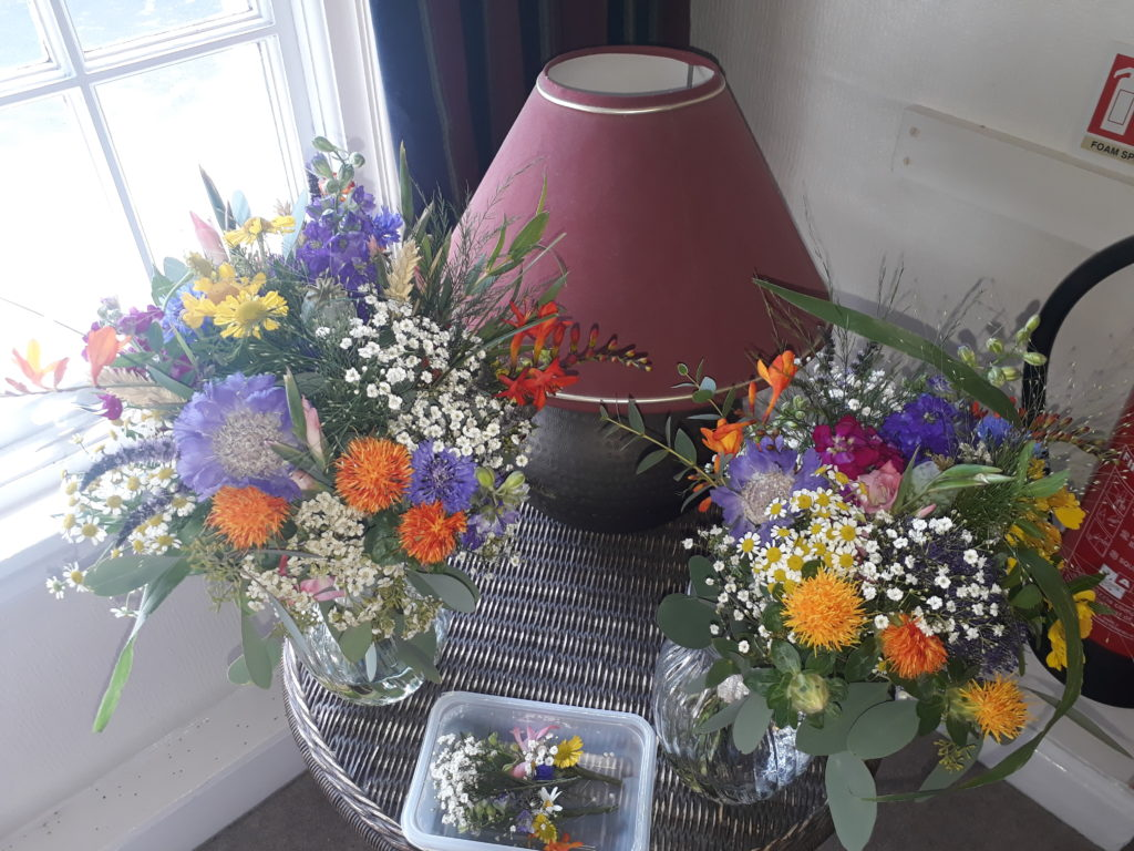 Wonderful wildflowers! An explosion of colours in these bouquets and buttonholes!