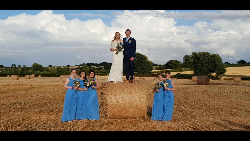 Picturesque family farm wedding