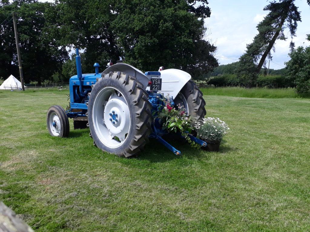 Handsome vintage tractor!