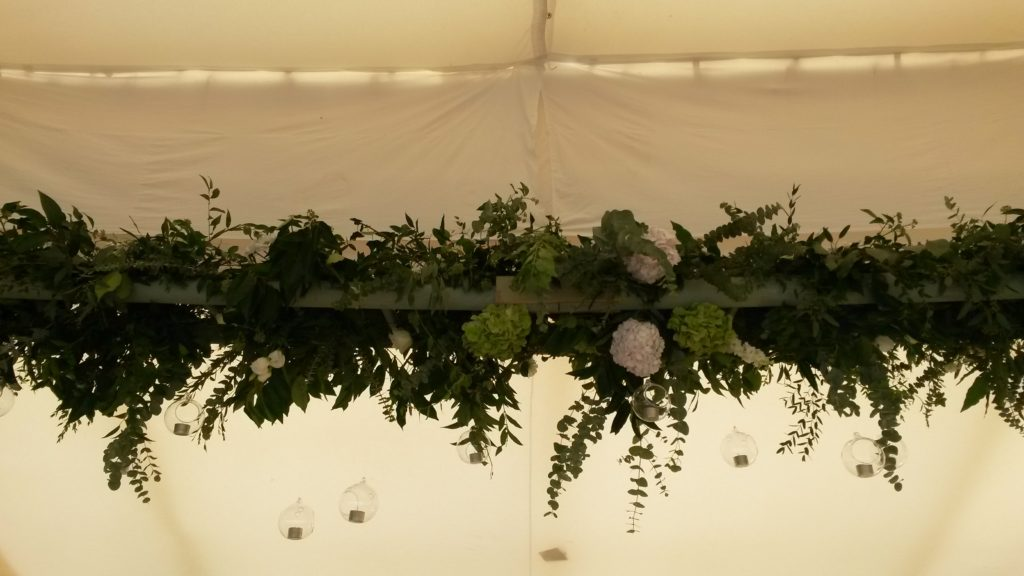 42m of overhead ladders and hanging arrangements!