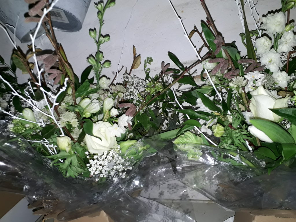 Some thank you bouquets
