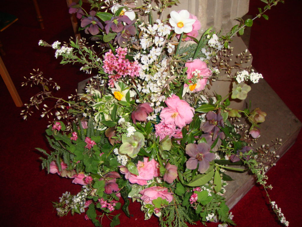 Christening flowers