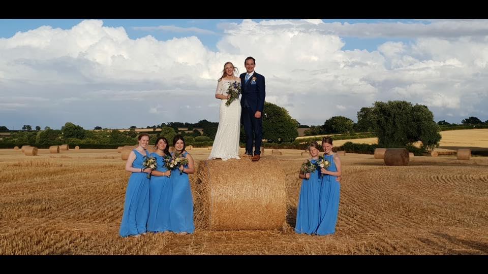 Picturesque family farm wedding