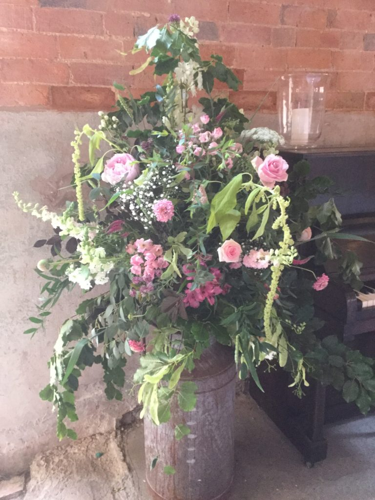 Luscious Peonies, Garden Roses, Amaranthus, Larkspur and more!