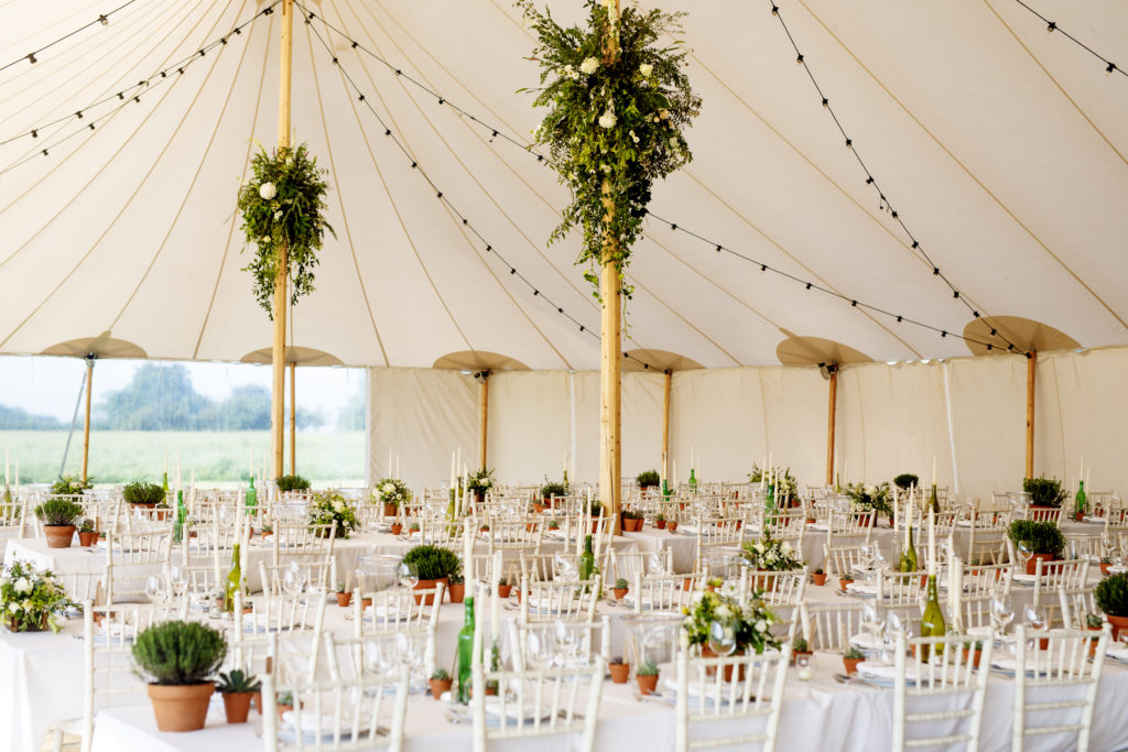 Beautiful tent all ready to party. Photo: Everybody Smile