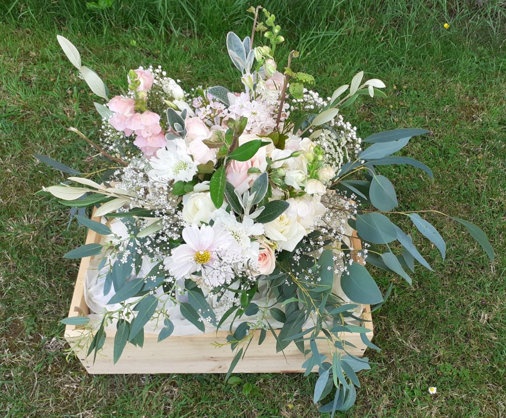 Pastel British and Dutch flowers combining beautifully