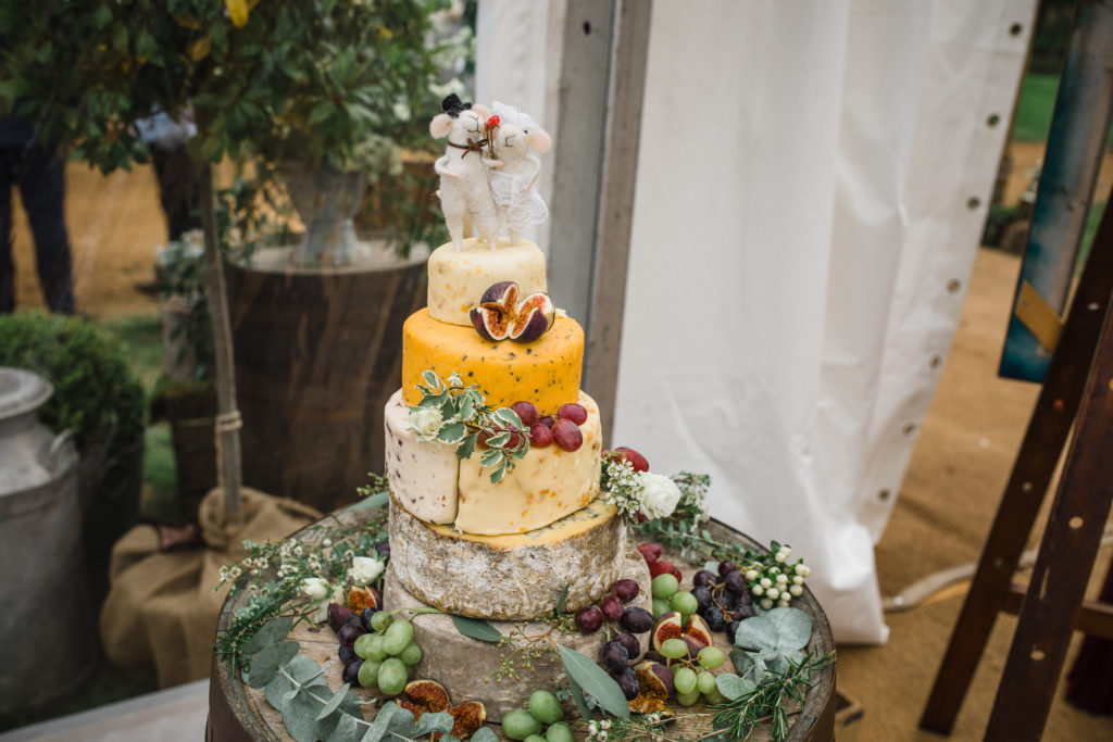 Cheese stack cake. Photo: Matt Brown